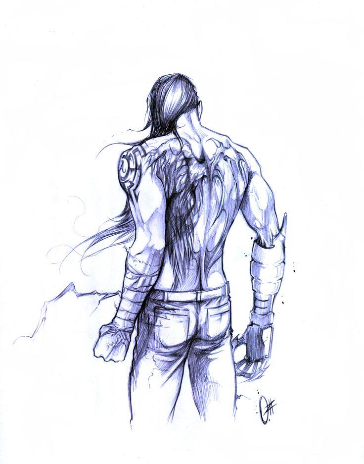 """Ran"" ,. Personaje de ""TIERRAS VACIAS"" Concepto: Yavhe Alexander Arte: Ozkr Hdez"