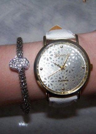 Kupuj mé předměty na #vinted http://www.vinted.cz/doplnky/hodinky/9402434-nove-bile-elegantni-hodinky-znacky-geneva