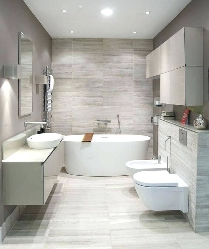 Small Bathroom Recessed Lighting Ideas | Modern bathroom ...