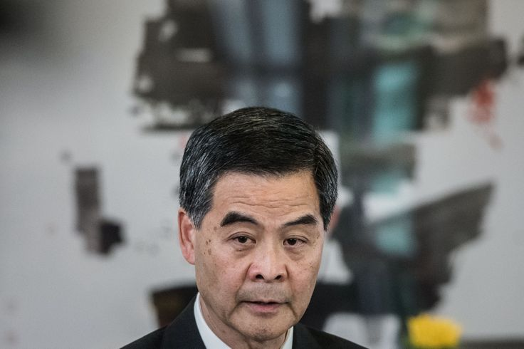 Hong Kong's Top Leader CY Leung Says Pro-Democracy Hunger Strike Is Futile | TIME