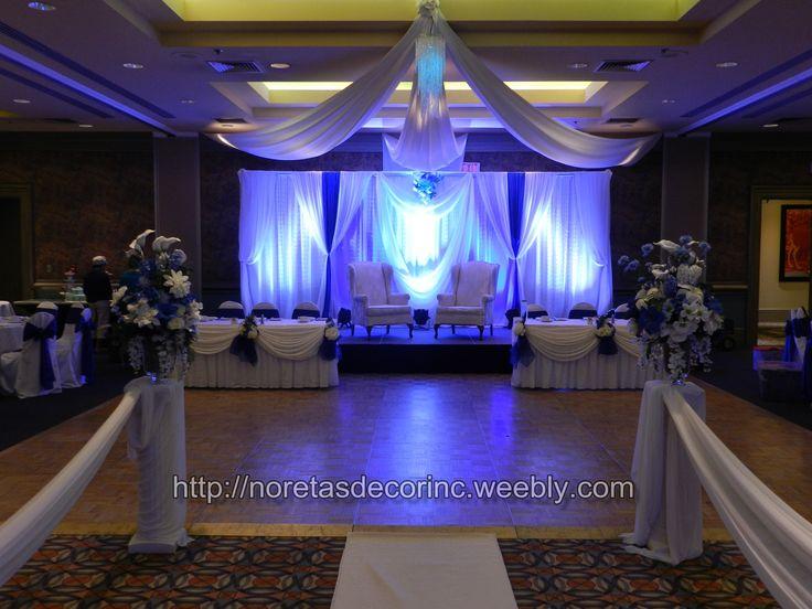 Elegant Wedding Reception Backdrops