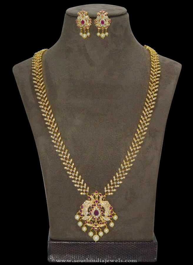 One Gram Gold Jewellery Long Chains, 1 Gram Gold Jewellery Long Chain Designs.