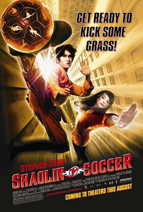 SHAOLIN SOCCER movie poster.. Lol :)