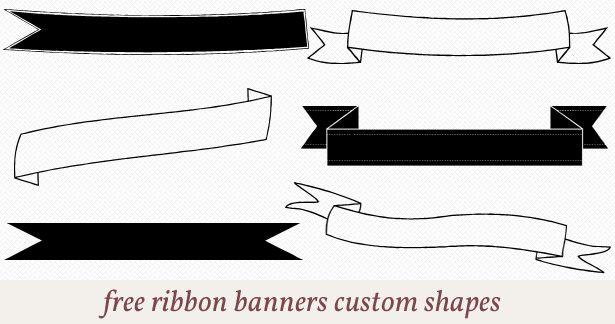 Banner Brushes - Free Photoshop Brushes at Brusheezy!