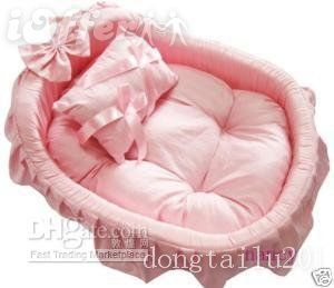 Pink Bed--for your princess pooch!