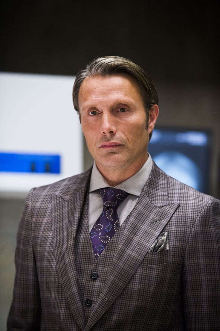 Mads Mikkelsen; 'Tis the season...Hannibal, Season 2.