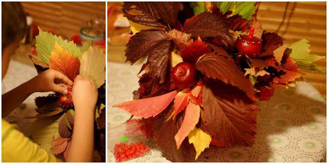 ZeleNova: Осенний букет в школу