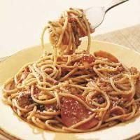 Top 10 Healthy Recipes for Kids from Taste of Home, including Pizza Spaghetti Recipe