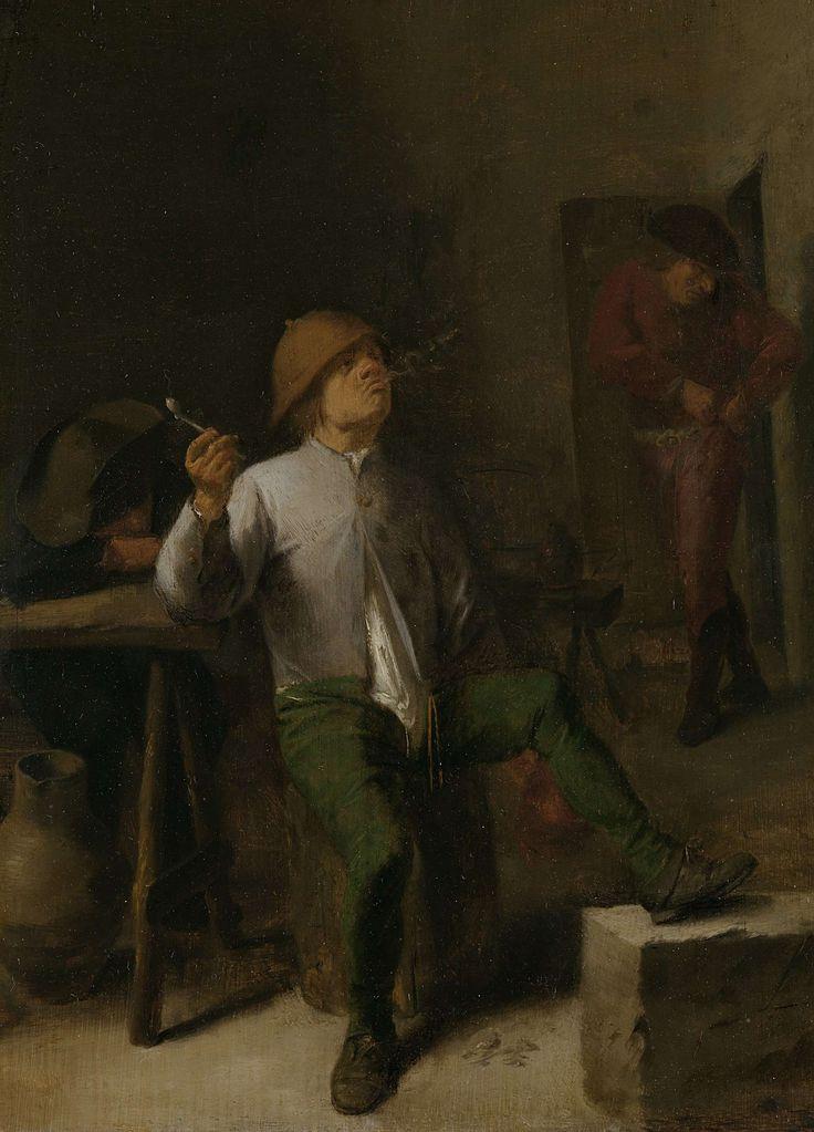 The Smoker, Adriaen Brouwer, 1630 - 1638