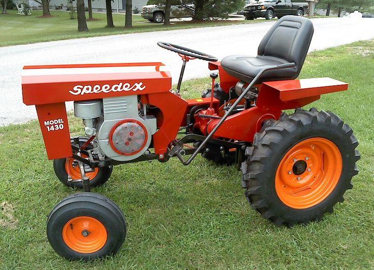 Mini Antique Tractors : Best images about vintage tractors riding mowers