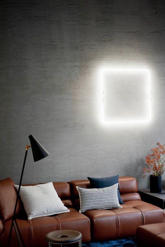 white neon. spotti/ home+winter+love | studiopepe