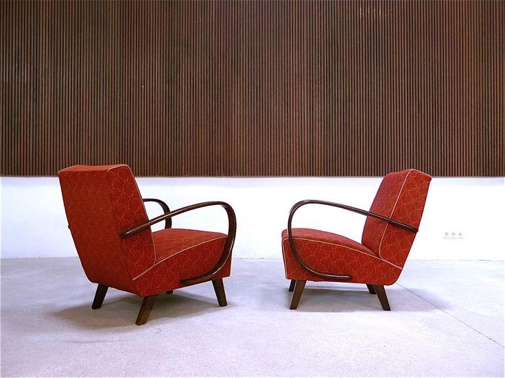 AreaNeo   JINDRICH HALABALA - lounge Chairs - UP ZAVODY - Czechoslovakia 1930