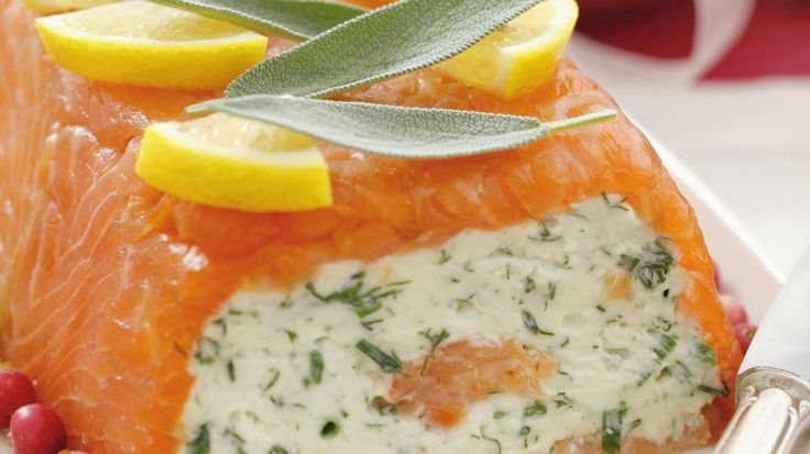 Rezept: Lachsterrine mit Frischkäse