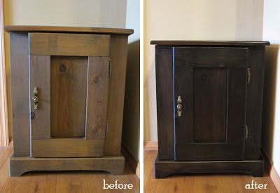 #DIY Goodwill furniture makeover!
