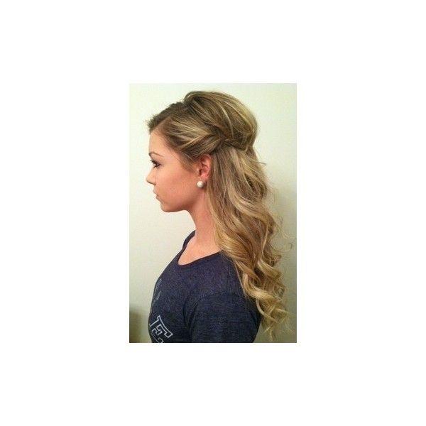 Fryzury Długie włosy: Fryzury Długie - vanillacocco - 2576989 ❤ liked on Polyvore featuring hair
