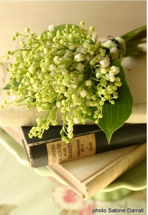 lily of the valley bouquet #wedding #flowers #bouquet