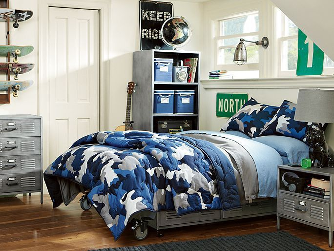 Top 25 Ideas About Industrial Boys Rooms On Pinterest