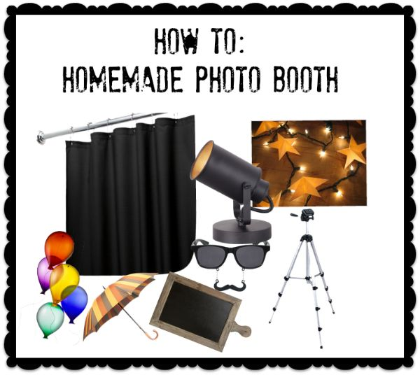 How To::Homemade Photo Booth