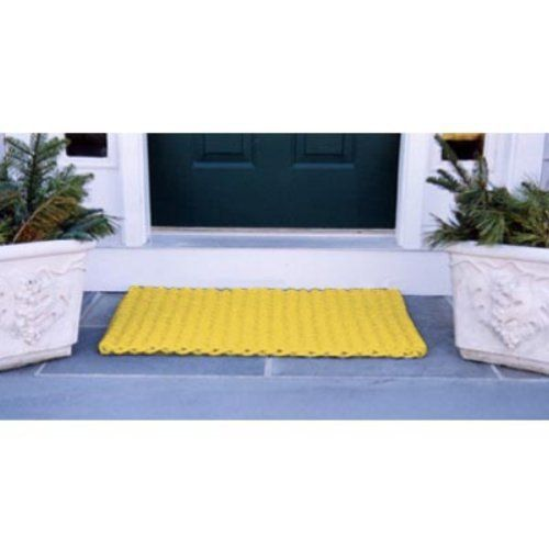 Cape Cod Doormat by CAPE COD DOORMATS. $73.95. Yellow, 100% polypropylene. Choice of sizes. Reversible. Traps dirt, sand, and snow. Quick-drying and stain-resistant. Cape Cod Doormat. Cape Cod Doormats are tough wearing and long-lasting. Top quality polypropylene cordage has thousands of fibers that remove dirt from the soles of boots and shoes and will withstand years of heavy traffic. Reversible, colorfast, mildew- and insect-resistant. Hose clean and quick d...
