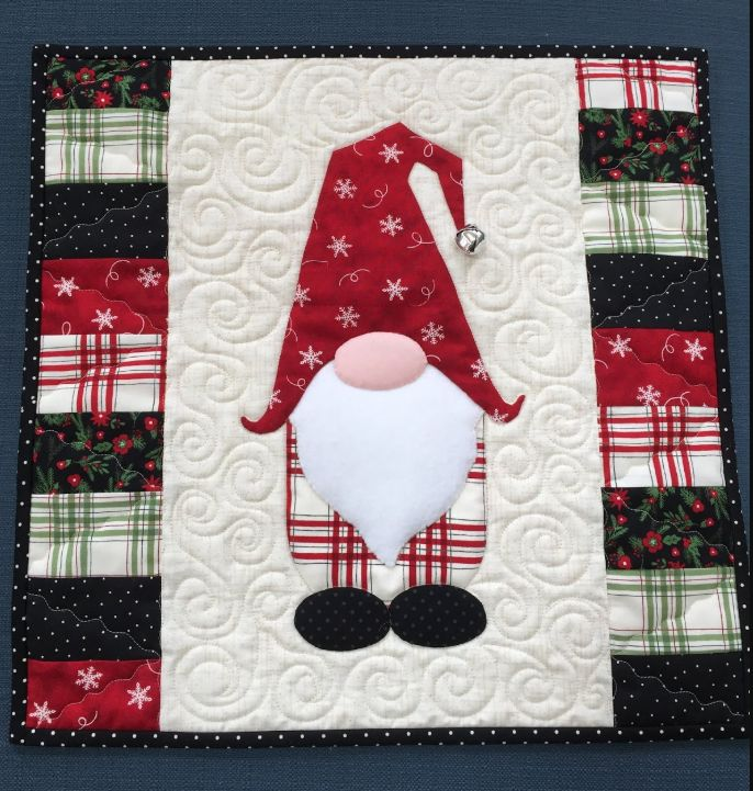 Christmas Gnome CLM0111068 Quilt Blanket in 2020