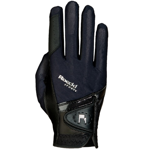 Roeckl Sports London Riding Gloves - Navy and Black, £39 #equestrian #fashion #horse #riding #gloves #roeckl
