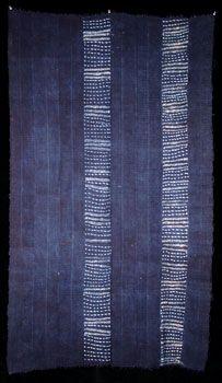 Indigo Arts Gallery | Art from Africa | Indigo Textiles from West Africa - Senegal.