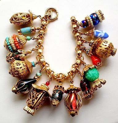 Napier Asian Charm Bracelet