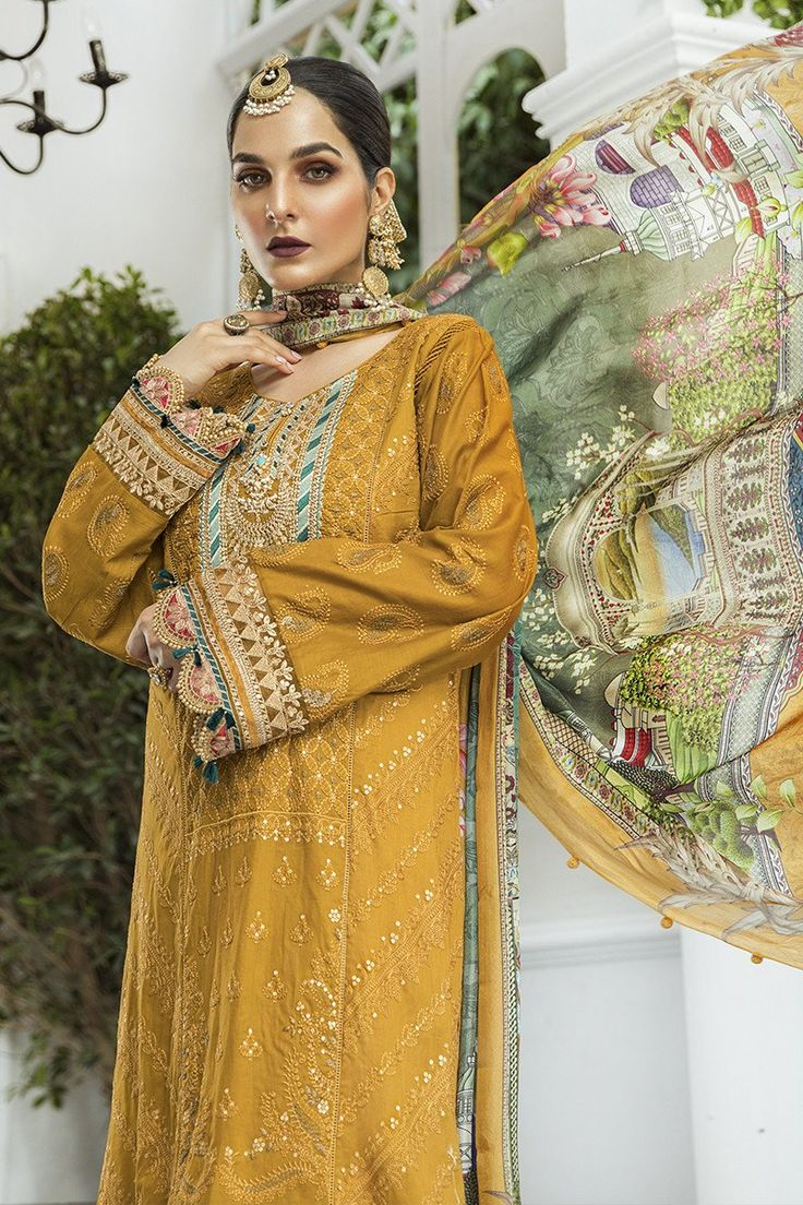Pin by Seema Khan on Lawns in 2020   Dress collection