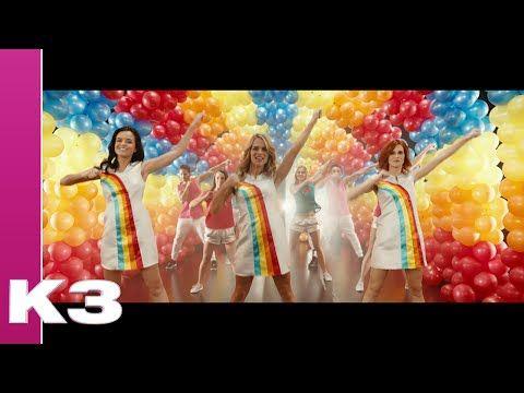 Nieuwe videoclip van K3 al 6 miljoen keer bekeken - Artiesten Nieuws