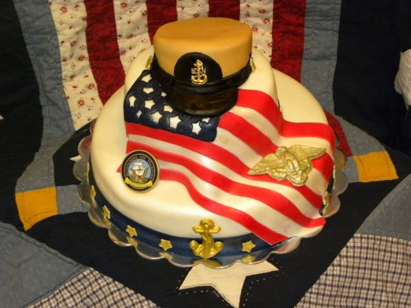 91 Best Cakes Patriotic Images On Pinterest Cakes