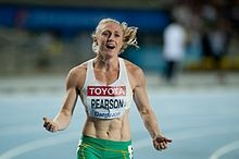 Sally Pearson - greatest female hurdler of all time (clean, that is)