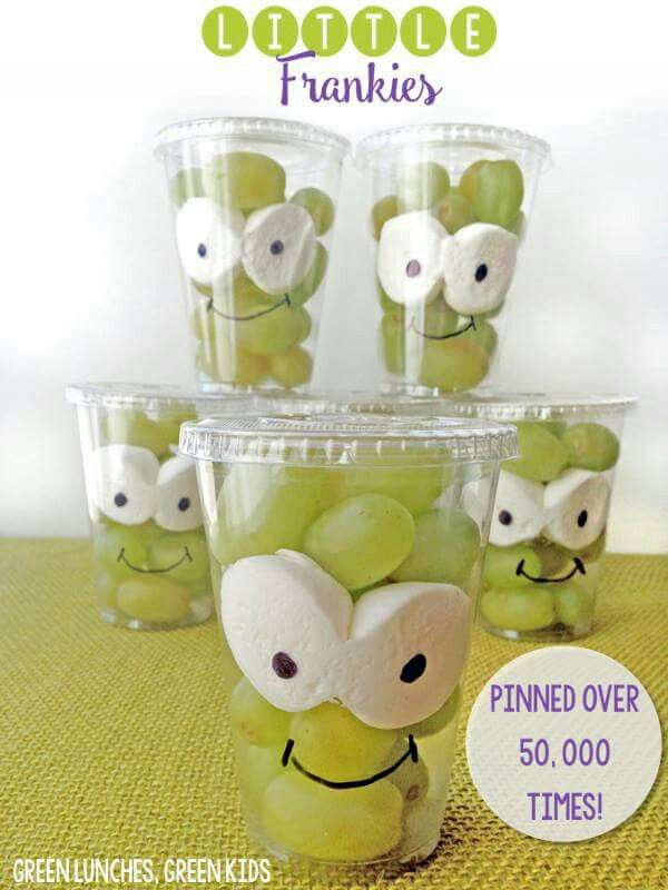 Fun activity with little ones and treat for lunches.