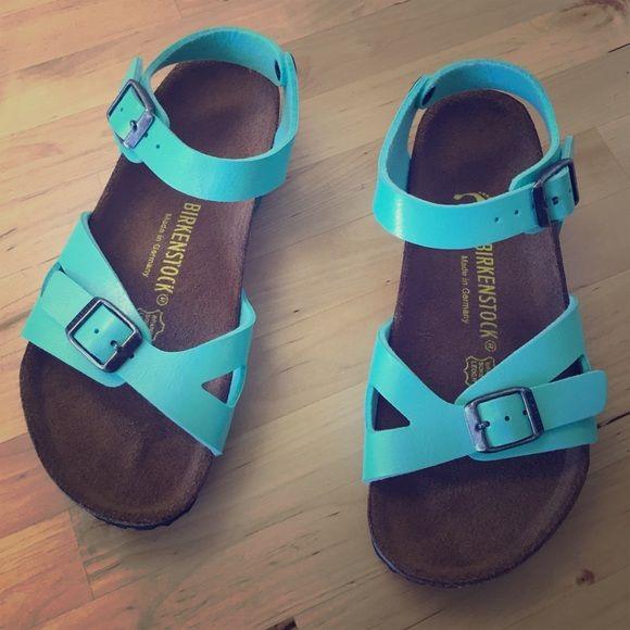 Birkenstock for kids Aqua gorgeous for kids Enjoy! Birkenstock Shoes Sandals