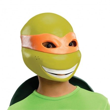 Boys Michelangelo Ninja Turtle Mask