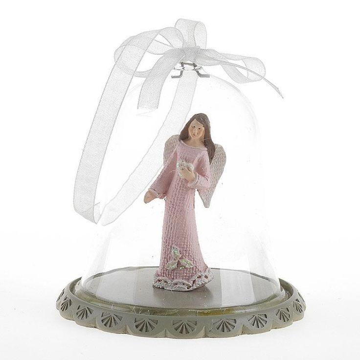 Glass ornament angel deco. www.inart.com