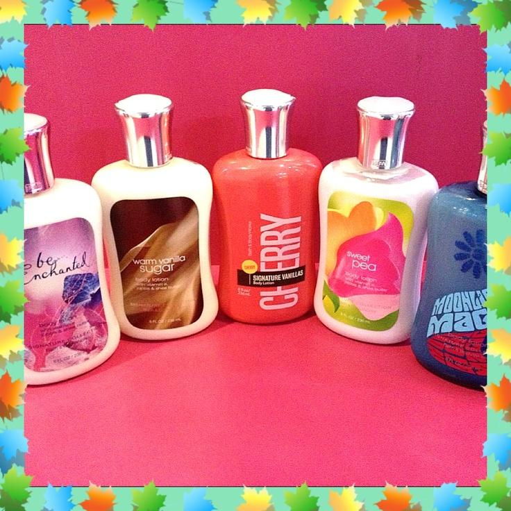 Cremas Hidratantes para el Cuerpo marca Bath & Body Works, en Miss Pink las encuentras en tan sólo Bs.180... Tenemos diferentes olores, búscalas antes de que se agoten!!