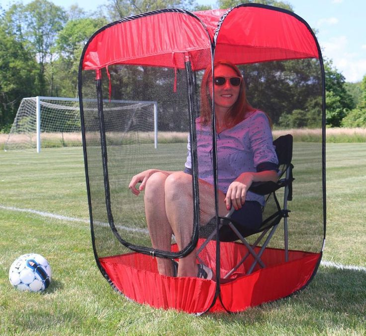This Pop Up Screen Chair Tent Helps Protect You From Annoying Mosquitos And  Other Insects That Keep You From Enjoying The Outdoors.