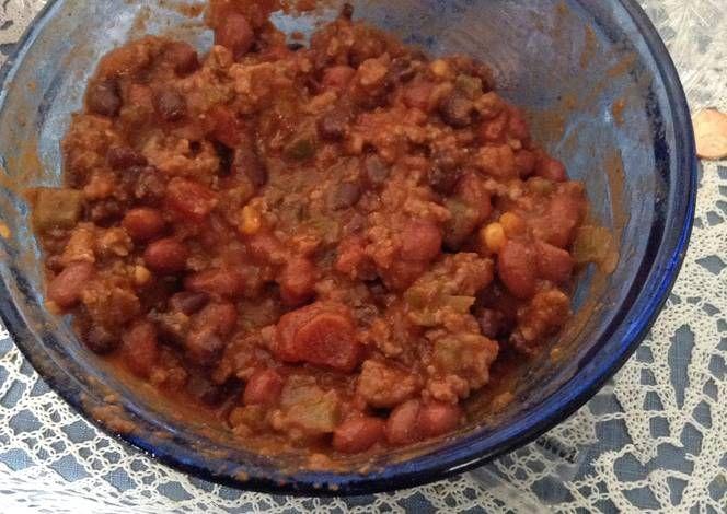 how to make very mild chili