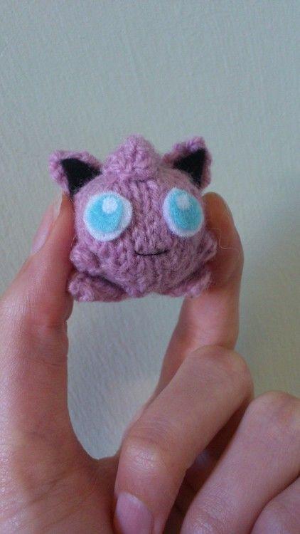 Jiggly Puff - mini   Knitted Amigurumi   Pokemon crochet ...