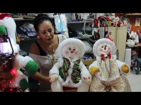 EL MUNDO MÁGICO DE ANABEL part 1(31 DE MAYO) Muñequeria muñecos de nieve - YouTube
