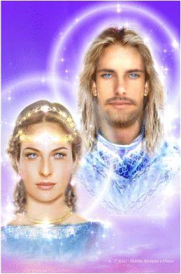 Arcturus e Diana - 7º raio