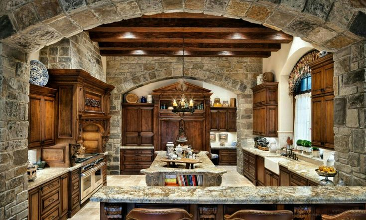 Love the stone archway