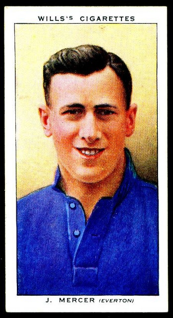 Joe Mercer, Everton