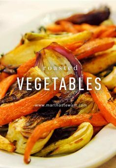Serve these flavorful roasted vegetables from chef April Bloomfield of The Spotted Pig and The John Dory Oyster Bar with her Slow-Roasted Balsamic-Glazed Duck for a sophisticated holiday feast.