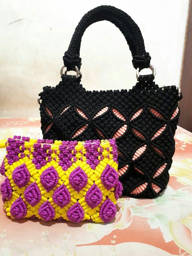 #mcramebag #handmade #bag