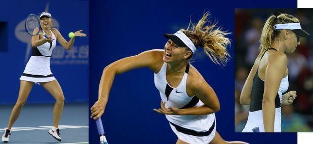 Maria Sharapova's #Nike dress had a really short life in Wuhan, click on the photo for full story