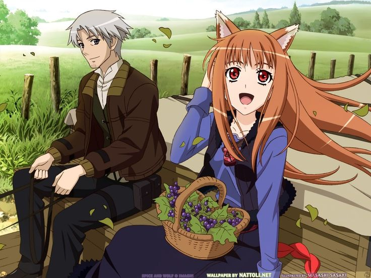 """""""Spice and Wolf"""", based on the light novels of Isuna Hasekura, is a fantastic anime. It is rated Mature if I'm not mistaken. The anime is set in a European setting; it is about a 25-year-old merchant named Lawrence Kraft who travels selling various goods.  He's trying to earn enough money to own a shop and he runs into a 600-year-old pagan wolf-deity named Horo. She appears 15-years-old. She wants to go home, so she agrees to help Lawrence in his trades while he travels closer to her…"""