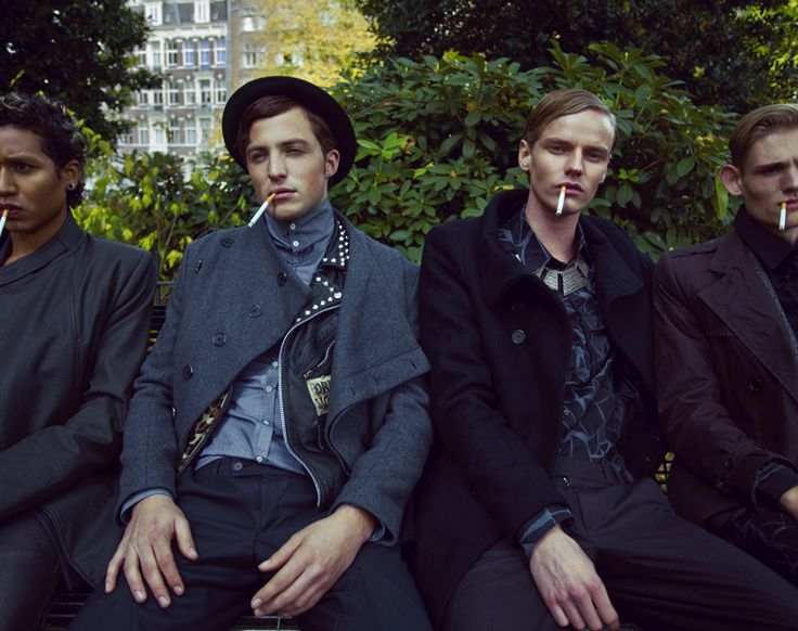 Bart Grein, Marijn Schotte, Gianni Bab & Rein Reitsma by Tim Verhallen for Fashionisto Exclusive