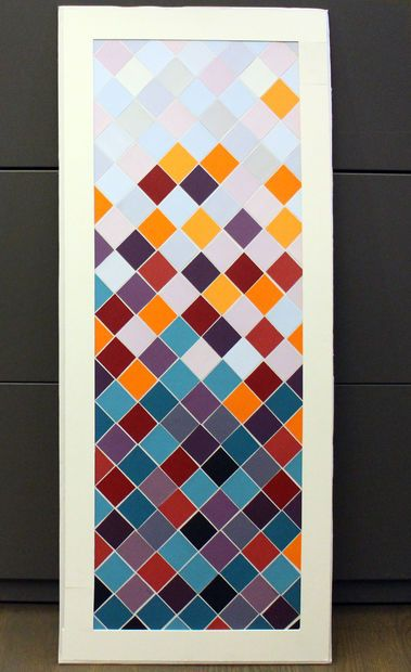 Best 25+ Paint chip art ideas on Pinterest | Paint sample ...