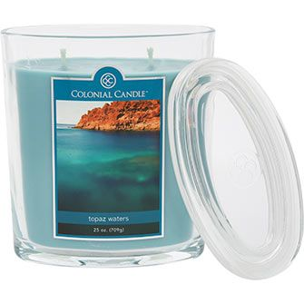Colonial Candle Topaz Waters Scented Candle